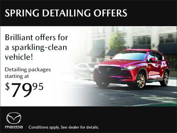 Spring Detailing Offers