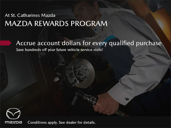 St. Catharines Mazda - Our Rewards Program