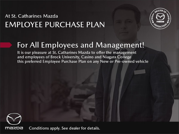 St. Catharines Mazda - Employee Purchase Plan