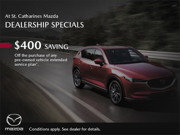 St. Catharines Mazda - Dealership Specials