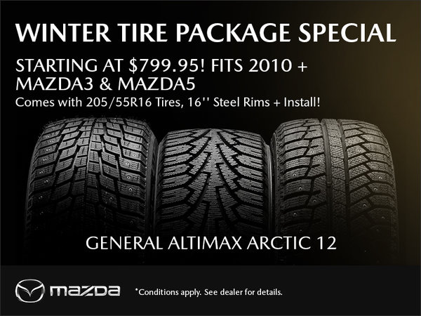 Winter Tire Package Special