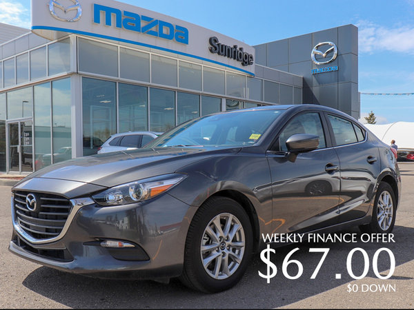Get a 2018 Mazda 3 GS Today!