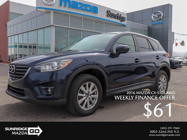 Get a 2016 Mazda CX-5 GS AWD Today!