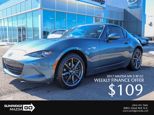Get a 2017 Mazda MX-5 RF GT Today!