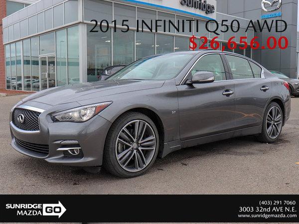 Get a 2015 Infiniti Q50 Premium AWD