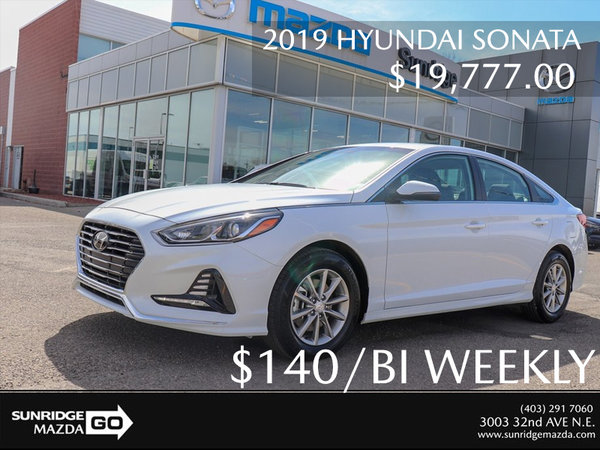 Get a 2019 Hyundai Sonata Today!