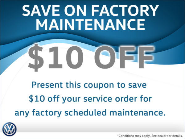 Save $10 Off Any Factory Maintenance