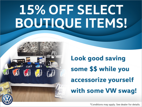 15% Off Select Boutique Items