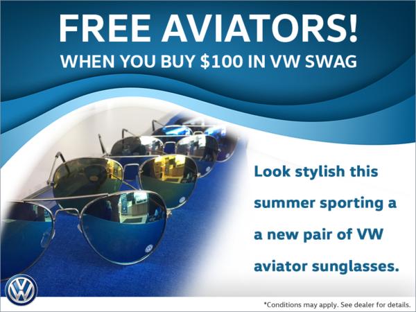 Get FREE Aviators with $100 Spent