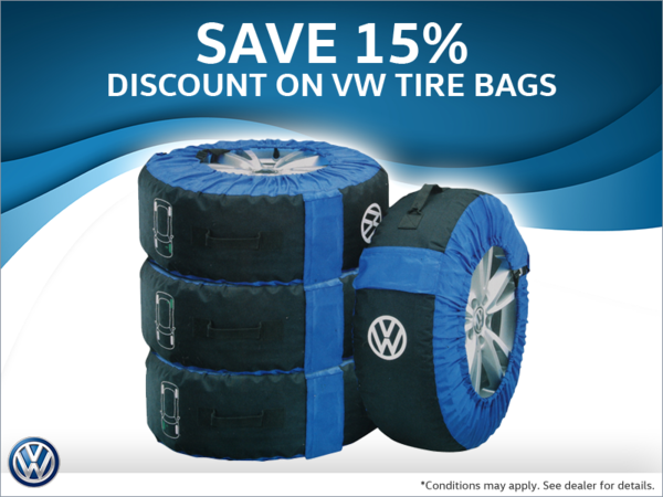 15% Discount on Tire Bags
