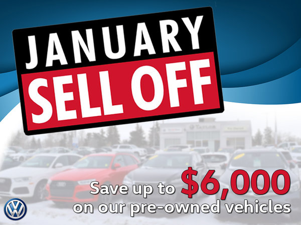January Sell Off