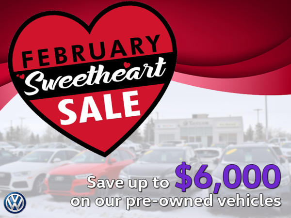 February Sweetheart Sale
