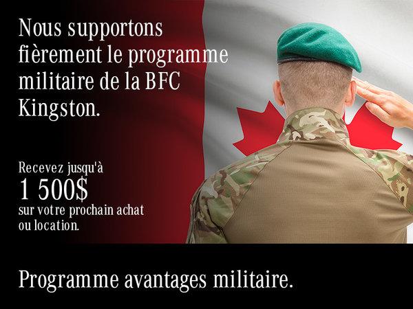 Programme avantages militaire.
