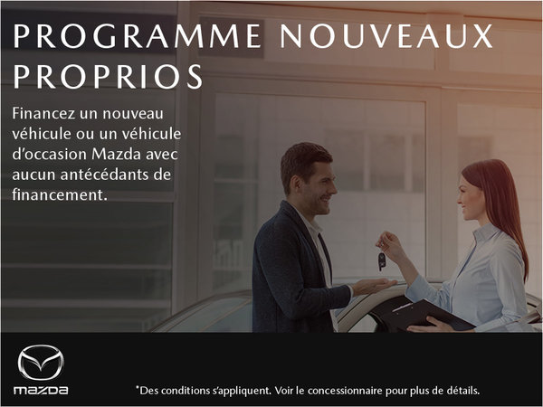 Prestige Mazda - Programme nouveaux proprios