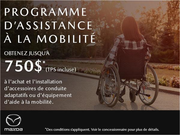 Prestige Mazda - Programme d'assistance à la mobilité