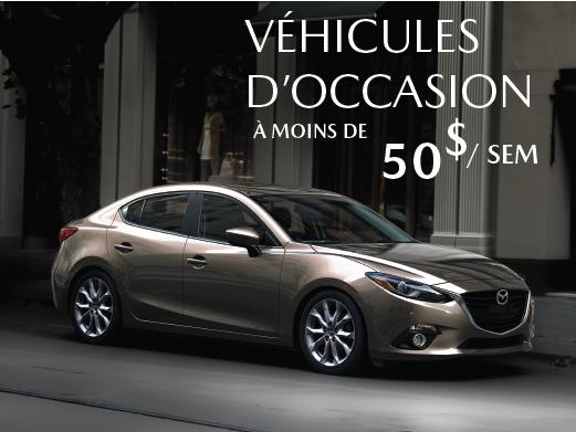 Prestige Mazda - Enfin, un véhicule d'occasion à 50$ par semaine!