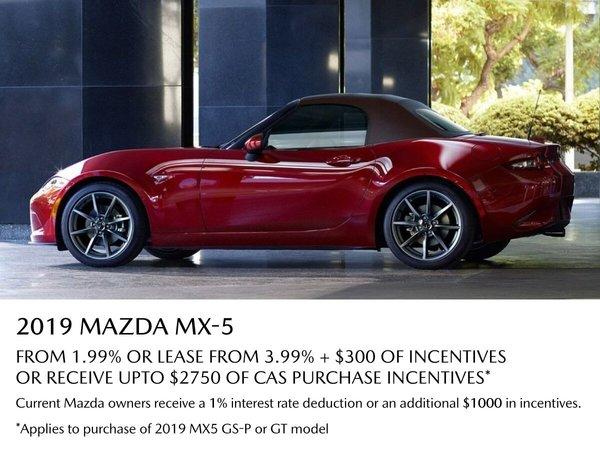 VIP Mazda - 2019 MX5