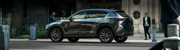 2019 Mazda CX5 - An Inspired Drive with available Dynamic Pressure Turbo, all new Signature Trim level and Unlimited KM Warranty