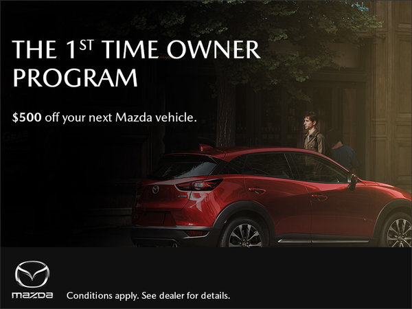 Gerry Gordon's Mazda - Mazda 1st Time Owner Program