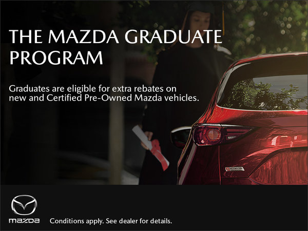 Gerry Gordon's Mazda - The Graduate Program