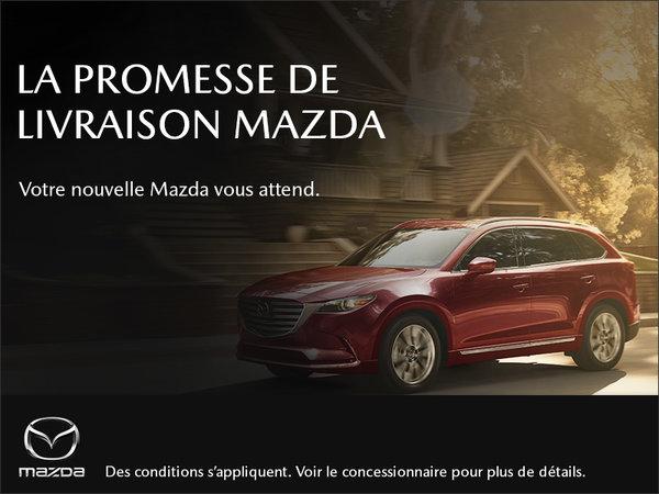 Mazda Gabriel St-Laurent - La promesse de livraison Mazda