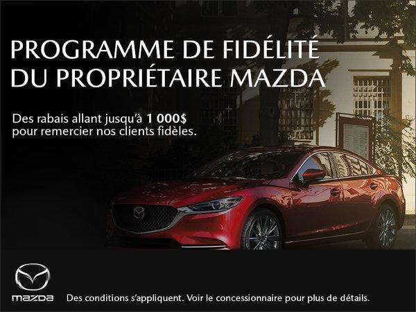 Mazda Gabriel St-Laurent - Programme de fidélité du propriétaire