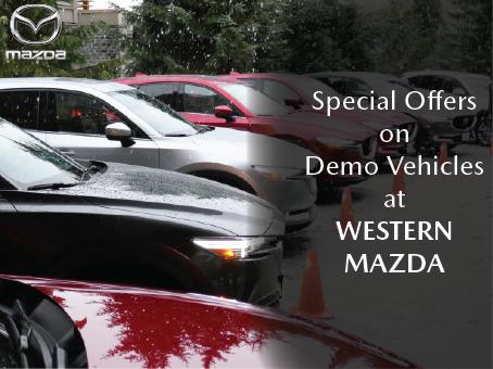 Western Mazda - Demo Specials