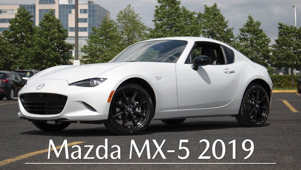 [VIDEO] Mazda MX-5 RF 2019 - Longueuil Mazda | Rive-Sud