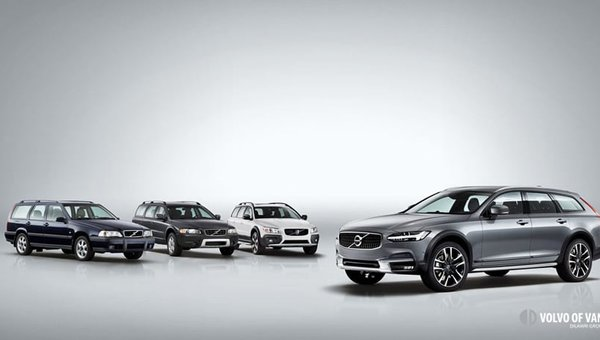 """""""Rediscover Your Passion in Life"""" in a New 2017 V90 Cross Country"""