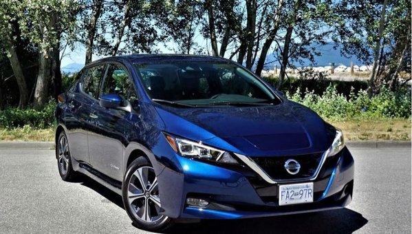 2019 Nissan Leaf SL Road Test Review