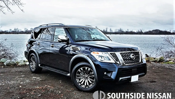 2018 NISSAN ARMADA PLATINUM RESERVE ROAD TEST REVIEW