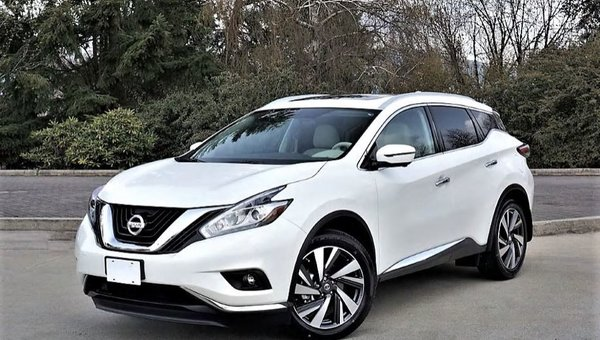 2018 Nissan Murano Platinum AWD Road Test Review
