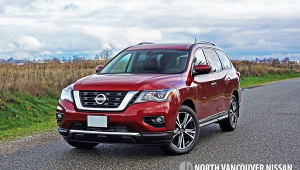 2018 Nissan Pathfinder Platinum 4x4 Road Test Review