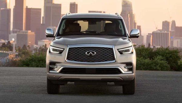 2019 INFINITI QX80: Amplified Power, Room, and Handling