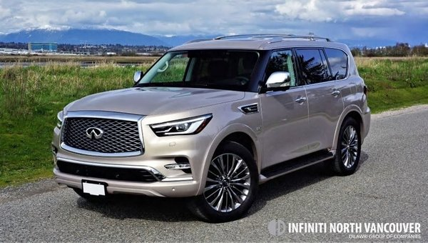 2018 INFINITI QX80 Road Test Review
