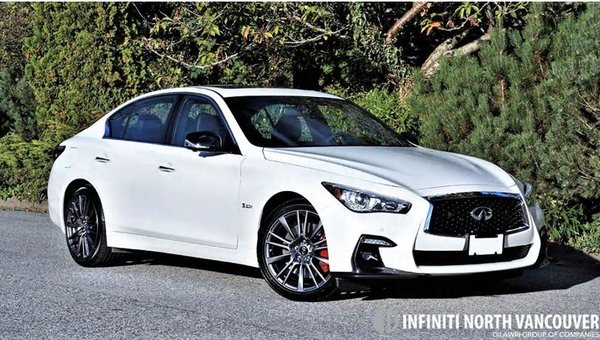 2018 INFINITI Q50 Red Sport 400 Road Test Review