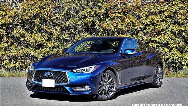 2017 INFINITI Q60 Red Sport 400 Road Test Review