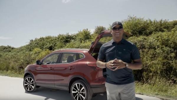 Geroy Simon and The 2019 Nissan Qashqai