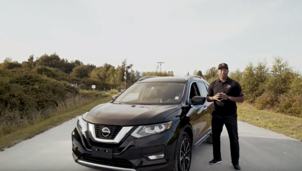 Geroy Simon and The 2019 Nissan Rogue