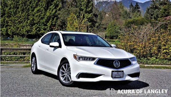 2019 Acura TLX Tech Road Test Review