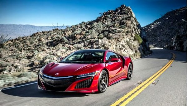 Acura NSX vs the competition