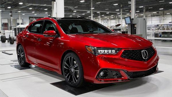 The 2020 Performance-Inspired Acura TLX Sedan
