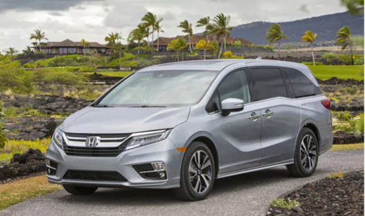 2018 Odyssey Highest Safety Ratings
