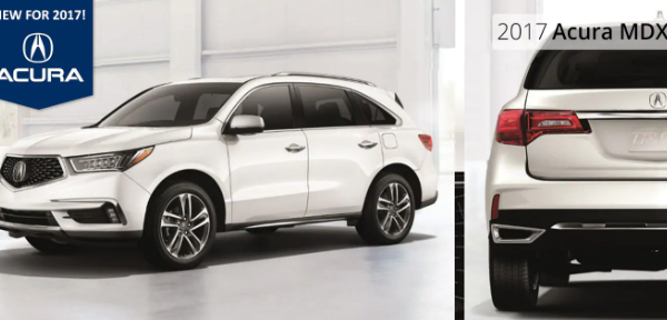 The New 2017 Acura MDX!