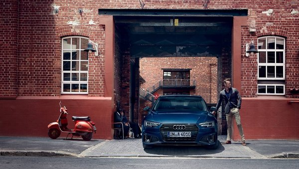 The 2019 Audi A4: Redesigned inside and out