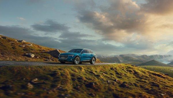 The 2019 Audi e-tron: A groundbreaking luxury EV