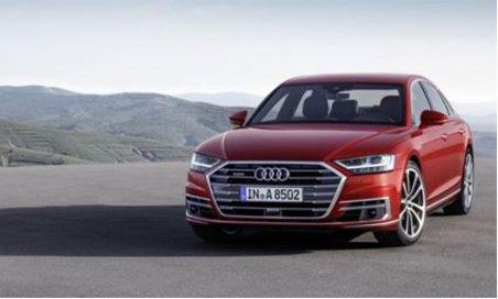 Audi A8 Self Parking