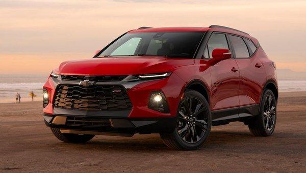 Voici le nouveau Chevrolet Blazer: le Chevrolet Blazer 2019