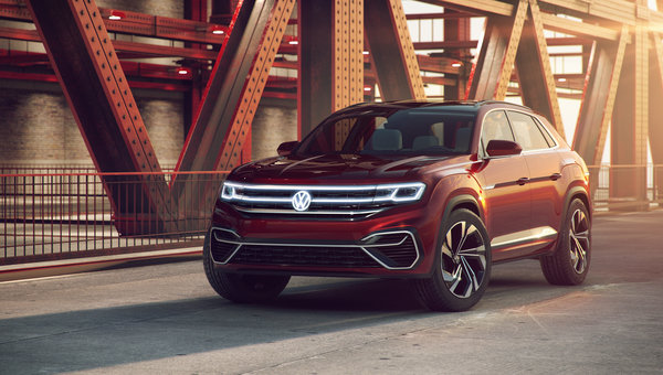 Volkswagen announces the arrival of the Atlas Cross Coupe