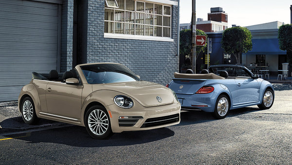 Volkswagen says goodbye to a legend with the 2019 Beetle Wolfsburg